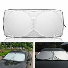 1x Auto Car Front Rear Window Foldable Visor UV Sun Shade Windshield Cover Block