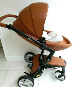 Mima Xari Stoller In Camel With Black Chassis/Black starter pack All Included