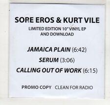 (HM395) Sore Eros & Kurt Vile, Jamaica Plain - DJ CD