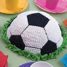 Moule à gâteau ballon de foot - Wilton