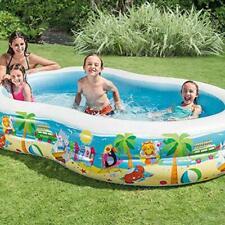 Intex Swim Center Paradise Seaside 56490Ep Inflatable Kiddie Swimming Pool