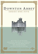 Downton Abbey Series 1-5 5053083014797 With Maggie Smith DVD Region 2