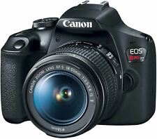 Canon EOS Rebel T7 DSLR Camera with 18-55mm Lens | Built-in Wi-Fi|24.1 MP CMOS S