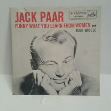 Jack Paar   RCA 47-7306    BLUE WIGGLE      (PICTURE SLEEVE ONLY)  VG COPY