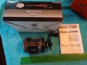Bass Pro Shop Cat Maxx CMX3000B Baitcast Reel With Original Box LEVEL WIND