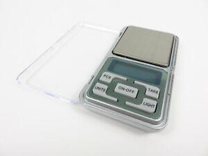 Digitalwaage 0,01 g 200 g Feinwaage Taschenwaage Goldwaage inkl.Batterie