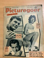 3 MAY 1958 PICTUREGOER MAGAZINE - YOUNG ROGER MOORE / JOHN SAXON