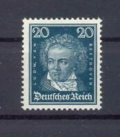 DR 392 x Berühmte Deutsche 20 Pfg. postfrisch geprüft HD Schlegel (ts135)