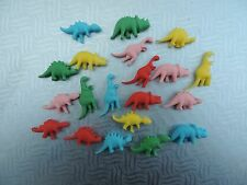 20 dinosaurs cupcake toppers,birthday,cake decorations.