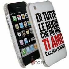 Cover Custodia Per iPhone 3GS 3G Bugie Ti Amo + Pellicola Salva Schermo