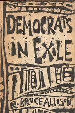 Democrats In Exile Rhode Island R. Bruce Allison Democratic Party Book