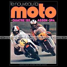 LA MOTO N°53 MOTOBECANE 125 LT YAMAHA RD SUZUKI GT HONDA CB JOHNNY HALLYDAY 1974