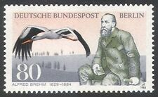 Germany (B) 1984 White Stork/Brehm/Zoologist/Birds/Nature/Conservation 1v n25106