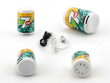 Fashion Green Mini Coke Shape Gift MP3 Player For 2GB/4GB/8GB Micro SD TF Card