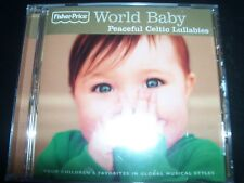 World Baby Peaceful Celtic Lullabies by Fisher Price CD For Babies – New