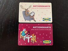 2x Ikea Deutschland Geschenkkarte Weihnachten 2018