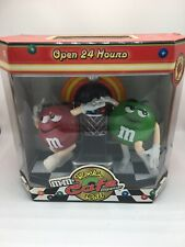 Green Plain + Red Peanut M&M's Rockin Roll Cafe Jukebox Candy Dispenser in Box