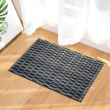 Original Bamboo Basket Texture Non Slip Bathroom Bedroom Shower Mat Floor Rug