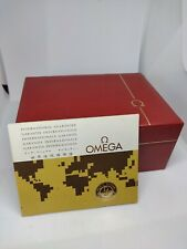 Omega Vintage Watch Box And Guarantee