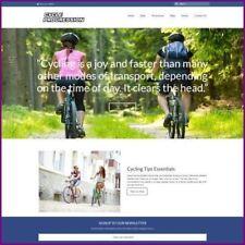 Sitio web de ciclismo ganar £ 936.00 A Venta | Dominio Gratis | Hosting Gratis | tráfico libre