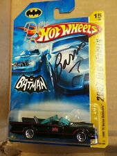 2007 Hot Wheels 1966 Batmobile Autographed Signed by George Barris & Dick Dean