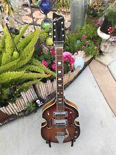 Rare Vintage 1965 Kingston Violin Guitar Sunburst Mojo Deluxe