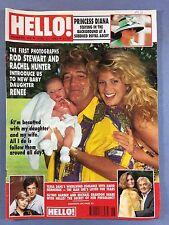 HELLO! - #208 June 27 1992 - Rod Stewart - Donald J Trump & Marla Maples