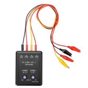 4-20mA 0-10V Signalgenerator 24V Strom Spannungsgeber Signalquelle D0W0