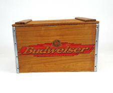 Vintage Anheuser-Busch Budweiser Beer Crate Wood Beer Box Since 1876 Wooden Box