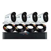 Night Owl XHD301-84P Extreme HD DVR + camera(s) - wired - LAN 10/100 - 8