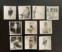 Lot of 10 1939 Carreras Cigarettes Glamour Girls of Stage and Films Cards