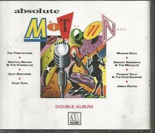 RARE MOTOWN PROMO NFS DOUBLE CD UK 1992 MARY WELLS 4 TOPS ELGINS CONTOURS VGC+