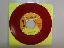 "UNDERDOGS: Love's Gone Bad 2:27- Same-U.S. 7"" 1966 V.I.P.- 25040 DJ On Red Vinyl"
