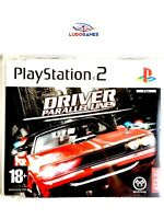 Driver Parallel Lines Promo EUR PS2 Retro Playstation Videojuego Videogame Mint