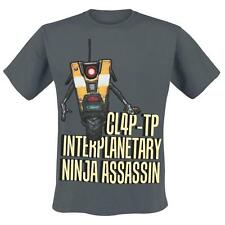 T Shirt Borderlands - Claptrap Assassin Taglia XL Gaya Entertainment