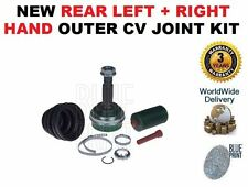FOR TOYOTA RAV 4 2.0DT 2001-2006 NEW REAR LEFT + RIGHT HAND OUTER CV JOINT KIT