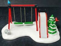 WINTER PLAYGROUND Dept 56 Christmas Snow Village House Accessory 54364