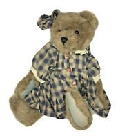 """Boyds Bears The Archive Collection 12"""" Jointed Teddy Bear ~ w/Tags Posable."""