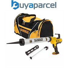 Dewalt DCE580N 18v Lithium-Ion Caulking Gun 600ml + 300ml Cartridge + Carry Bag