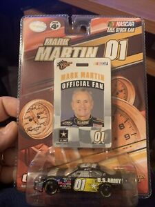 2007 Mark Martin #01 Winners Circle NASCAR 1:64 Chevy US Army Official Fan
