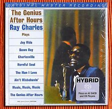 RAY CHARLES – THE GENIUS AFTER HOURS  Numbered  Hybrid  Mono SACD  MFSL  SEALED