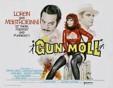 GUN MOLL Movie POSTER 30x40 Sophia Loren Marcello Mastroianni Pierre Brice