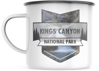 Kings Canyon California National Park 12 OZ Enamel Mug Campfire Mug Souvenir
