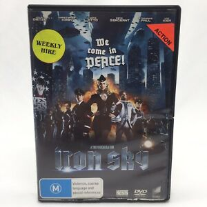 Iron Sky (DVD, 2012) R4 With Stephanie Paul Ex-Rental In Good Condition RARE