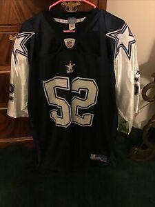 Rare Vintage Nike Pro Line NFL Dallas Cowboys Dexter Coakley Football Jersey