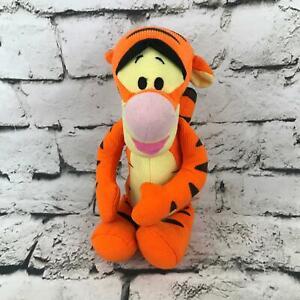 Disney Tigger Plush Orange Sitting Corduroy Stuffed Animal By Fisher-Price