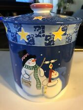 S'Mores The Merrier Jolly Follies Sandi Gore Evans Cookie Jar / Cannister