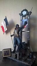 Assassin's Creed Unity Guillotine Collector's Edition Figure (2 items lot)