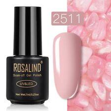 ROSALIND Gel Nail Polish Nail Art Varnish UV Manicure Top Coat Gel Lak Hybrid