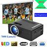 7000 Lumens 1080P Full HD Mini LED Projector Multimedia Home Theater USB HDMI AV